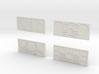 CP11 Flat Control Panels Design (28mm) 3d printed