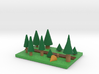 Pine Forest 3d printed