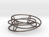 Elliptical Inside-Out | Bracelet | 4x2 Circle 3d printed