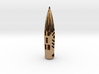 """50BMG """"Hogstooth"""" necklace  *CUSTOMIZED* with Name 3d printed"""