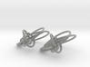 Loops Earrings - Larger - 2 Pcs 3d printed