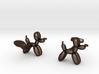 Balloon Dog Cufflinks 3d printed