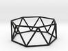 heptagonal antiprism 70mm 3d printed