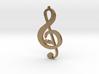 Treble Clef Music Symbol 3d printed