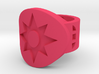 Star Saphire Violet FF Sz 6 3d printed