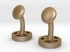 CUFFLINKS CROMODORA WHEEL STEEL 3d printed