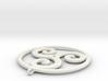 triskele_circle 3d printed