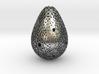 Erasmo Pendant Necklace - Silver 3d printed