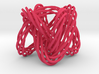 Knot, Knot.  Who's There?  Lissajous knot. 3d printed