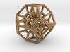Octahedral Inversion pendant 3d printed