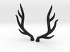 bjd elk deer horns 3d printed