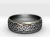Celtic ring 03 3d printed