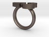Love Emoticon Ring  3d printed