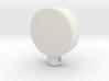 Power Icon Pendant 3d printed