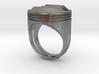 Piston Head Ring 3d printed
