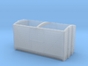 LNWR 6ton Refrigerator Van body - 4mm scale 3d printed