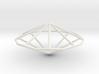 NonagonalTrapezohedron 70mm 3d printed