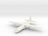 1/285 (6mm) C-130J Hercules 3d printed