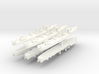 Admiralty S Destroyer (Std) 1:1800 x6 3d printed