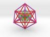 StarTetrahedron Cube nest 100mm Rainbow 3d printed