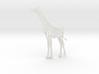 Wildlife Treasures - Giraffe 3d printed