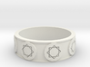 Daniel's Ring (Size 9) 3d printed