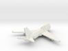 Boeing 747-400 3d printed
