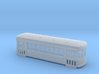 N gauge short trolley City car 8 window 3d printed