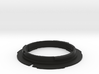 F mount lens to EF mount camera adapter  3d printed