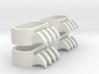 1:6 Scale Ninja Claws 2 pairs 3d printed