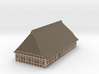 Z Scale North German Farm House 3d printed