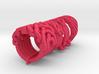 Ring set 2   Weave-Six   Cross-Rings   Holistic-Ri 3d printed