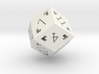 Rhombic 12 Sided Die - Large 3d printed