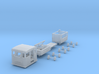HOn30 PBR/ VR NKR-1 Rail Mail Car KIT 3d printed