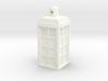 TARDIS Ornament / Charm 3d printed