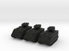 15mm Scorpion AFV (x3) 3d printed