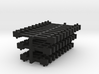 N Scale NEM fixed bar couplings (3.5, 5, 7mm) 3d printed