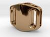 Pedal Bead Ver.2: Tritium (Silver/Brass/Plastic) 3d printed