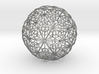 Silver Pendent_d2 3d printed
