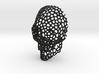Voronoi Skull Pendant large 3d printed