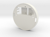 Yingyang smoke detector (midsection) 3d printed