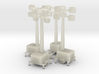 oo scale site lights x 4 3d printed