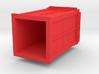 Tardis Pendant (hollow) 3d printed