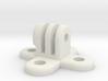 GoPro Custom (Quad) Screwed Mount 3d printed