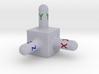 Origin cube.vmrl 3d printed