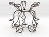 Pentagonal Knot Sculpture 3d printed