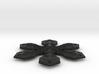 "Snowflake Pendant (1.7"" tip to tip) 3d printed"
