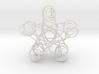 Pentagonal Knot 3d printed