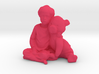 A Boy And His Pig 3d printed