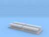 Whelen lightbar 14,6 mm 4stuks 1:87 3d printed